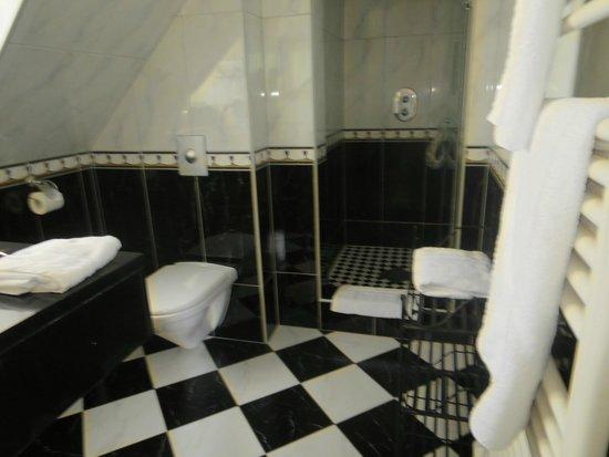 Romantik Hotel Du Parc : Superior badkamertje zonder bad