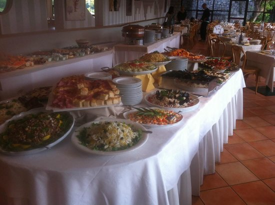 Hotel Valle Verde: buffet