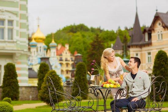 Savoy Westend Hotel: garden terrace