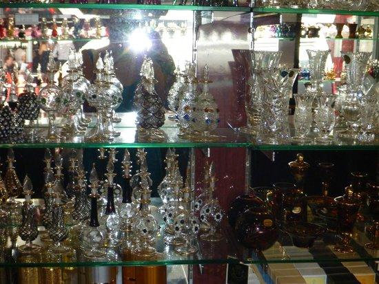 Jamal Kazura Aromatics: fine bottles