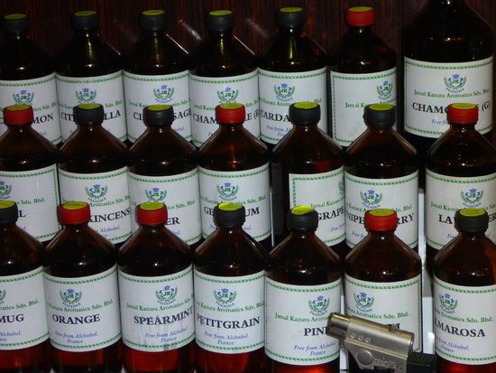 Jamal Kazura Aromatics: basic oils