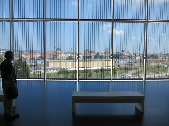 Centre Pompidou-Metz : Vue panoramique de Metz