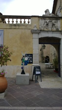Vallauris, France: Ingresso museo
