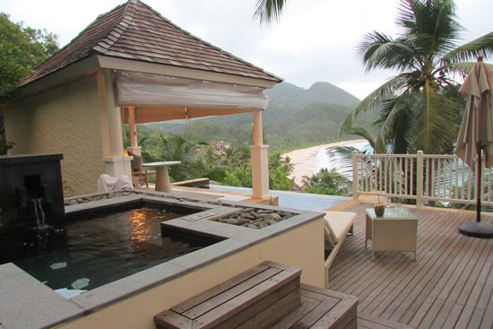 Banyan Tree Seychelles : Villa Patio