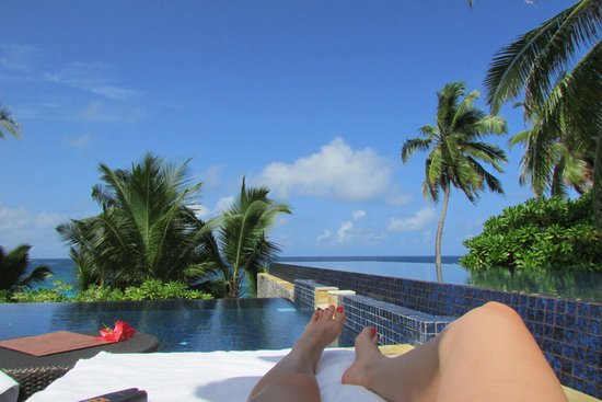 Banyan Tree Seychelles : Pool View