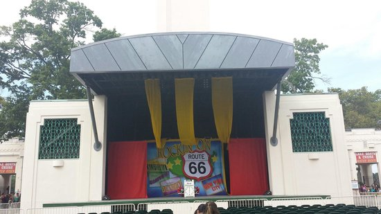 Playland Park: Stage at Rye Playland