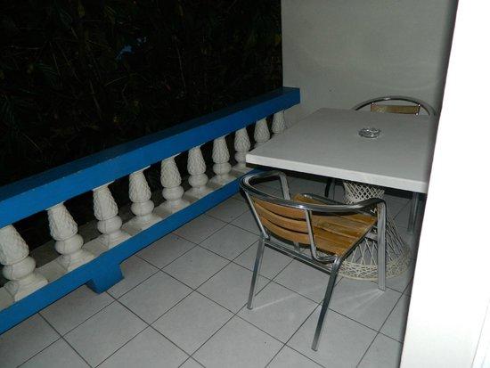 Travellers Beach Resort: Private Balcony Room #44