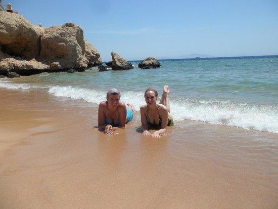 Hilton Sharm Waterfalls Resort: Красное мореееее