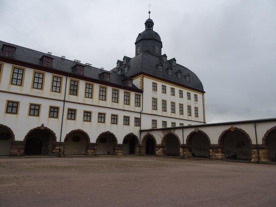 Schloss Friedenstein: Castello di Friedenstein a Gotha.