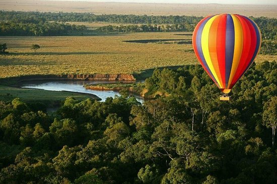 Governors' Camps Hot Air Ballooning