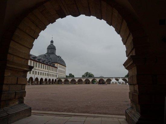 Schloss Friedenstein : Castello di Friedenstein a Gotha.