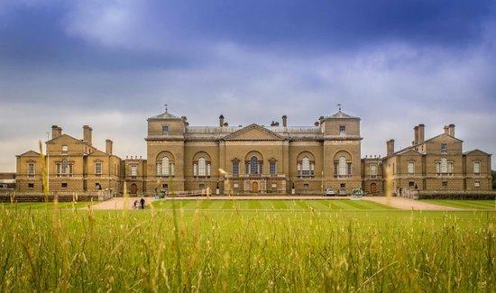 Holkham Hall: The Hall.