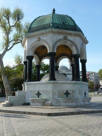 Немецкий фонтан - Picture of Hippodrome (At Meydani ...