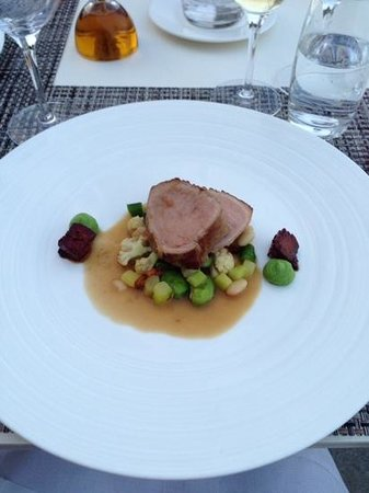 Chateau Neercanne : veal