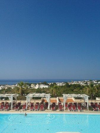 Messapia Hotel & Resort : Vista dalla terrazza