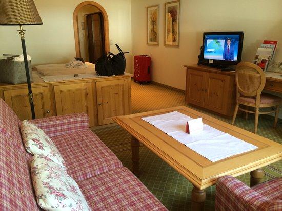 Hotel Schwarzer Adler: 部屋その2