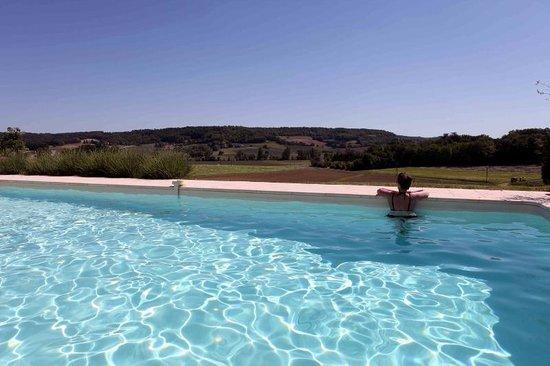 Domaine Saint Fort : het zwembad