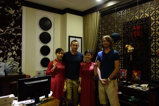 Little Hoian Boutique Hotel & Spa: Nana and Quyen are the nicest staff you could hope for