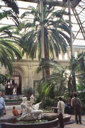 Gliptoteca Ny Carlsberg: Atrium in the Glyptotek