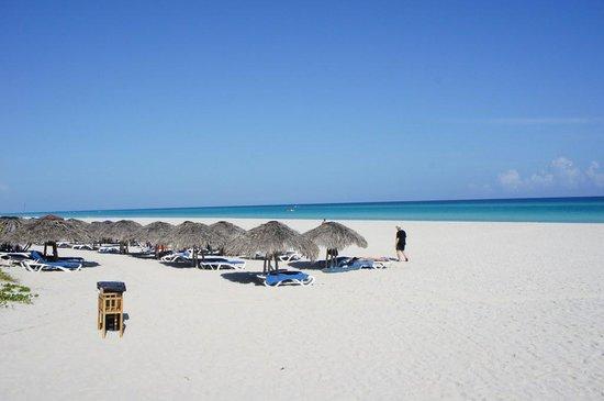 Royalton Hicacos Varadero Resort & Spa: plage de l'hôtel