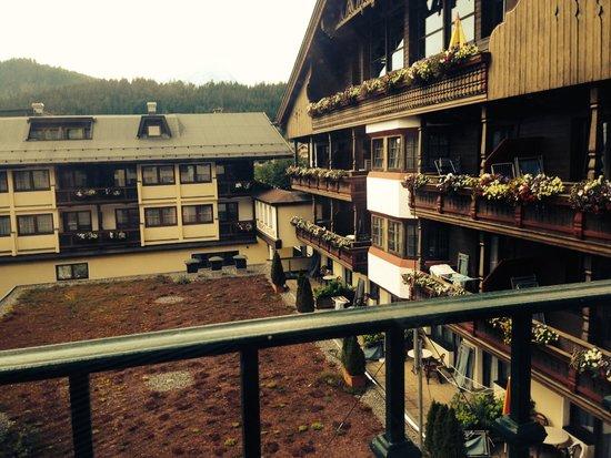 Ferienhotel Kaltschmid : Panorama dalla camera(senza balcone)