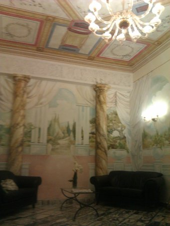 Hotel Chiusarelli: Il salotto