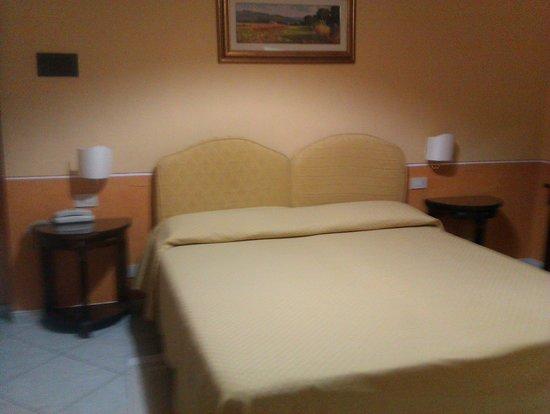 Hotel Chiusarelli: La camera