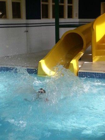 Hampton Inn & Suites Langley Surrey: Great waterslide