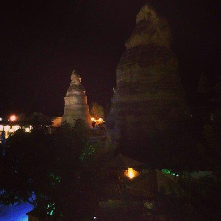 Cappadocia Stone Palace : Vista dalla finestra della camera