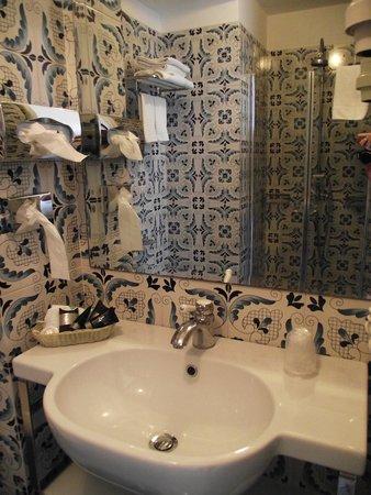 Palazzo Marzoli Resort : Bagno della camera
