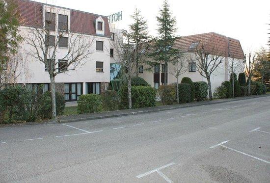 Hôtel Castel Burgond : Parking Castel-Burgond