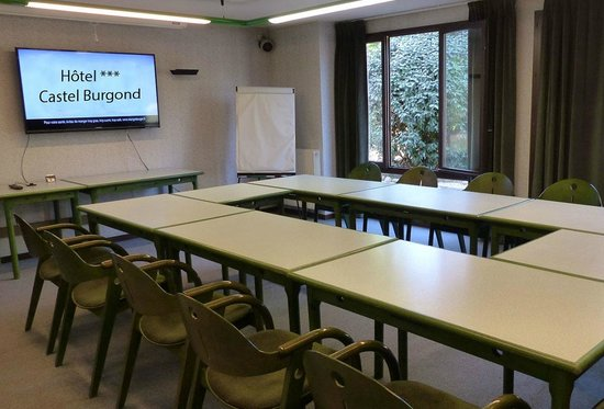 Hôtel Castel Burgond : Salle réunion Castel-Burgond
