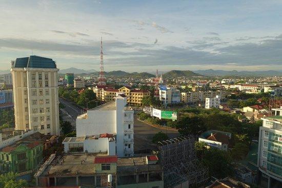 Eldora Hotel: View from panoramic room