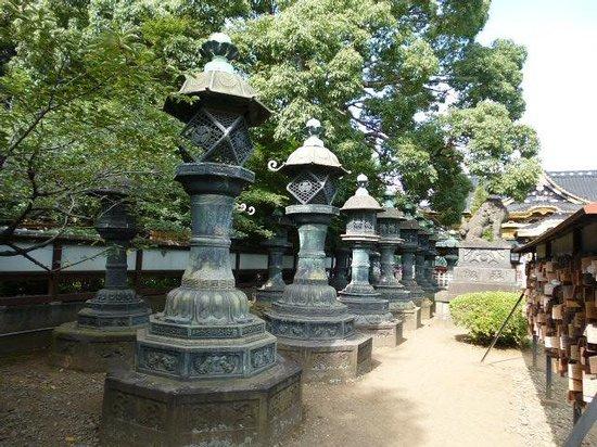 Toshogu Shrine: 見ごたえのある灯篭