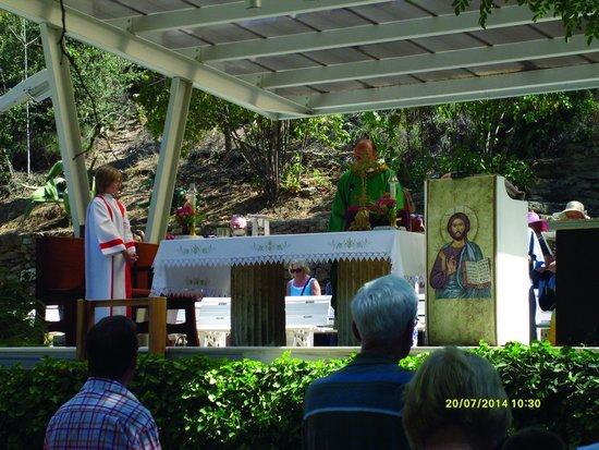 Meryemana (The Virgin Mary's House): Sunday mass