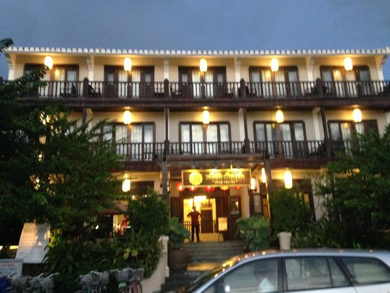 Little Hoian Boutique Hotel & Spa: Front of hotel