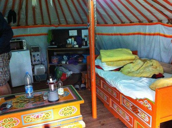 Le Domaine de Kervallon: Yurt