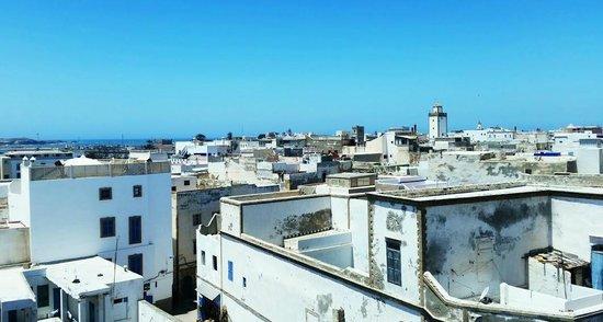 L'Heure Bleue Palais: Vue Terrasse