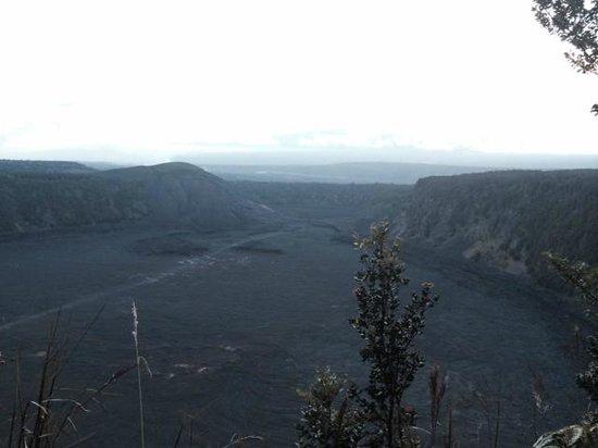 Akamai Adventure Tours & Travel : Just nearing sunset at Kilauea Iki Crater.