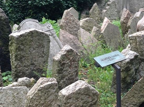 Jewish Museum in Prague: oldest gravestone