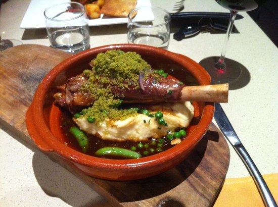 Bistro Alegria: Superb Alegria Lamb Shank