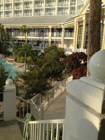 Sanibel Harbour Marriott Resort & Spa : View from bar area balcony