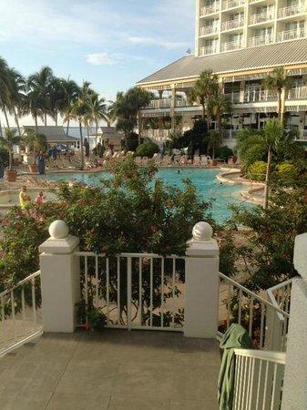 Sanibel Harbour Marriott Resort & Spa : View from bar balcony