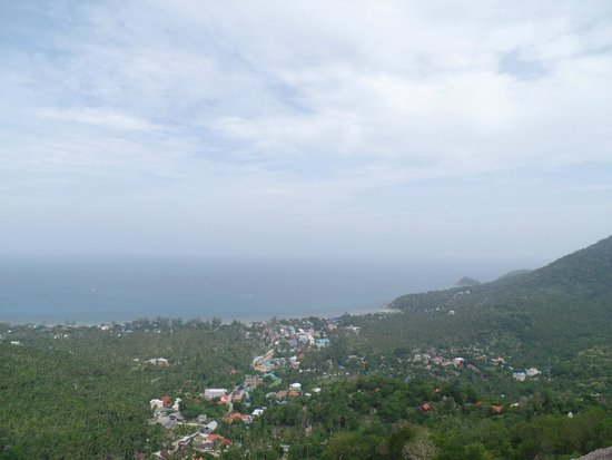 Goodtime Adventures, Koh Tao: beautiful view from the mountains