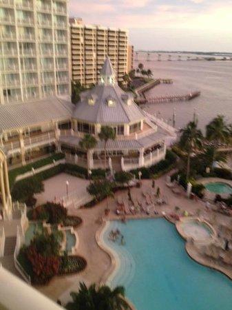 Sanibel Harbour Marriott Resort & Spa: View from room