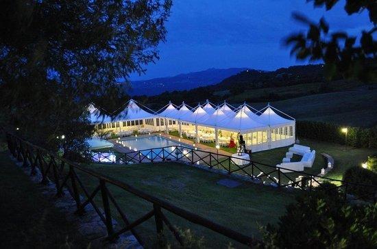 Quadro, Italien: Matrimonio in Agriturismo