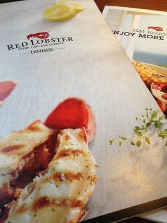 Red Lobster´s menu - Picture of Red Lobster, Scottsdale - TripAdvisor