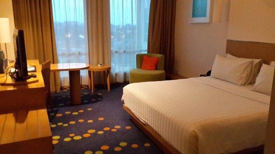 Novotel Bandung: Bed room 7th floor