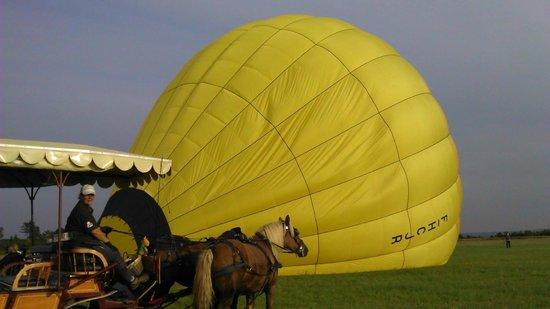 Montgolfieres de Falaise : même pas peur !!^^