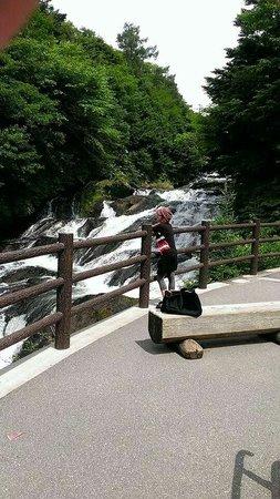 Ryuzu Waterfall: Relaxing place